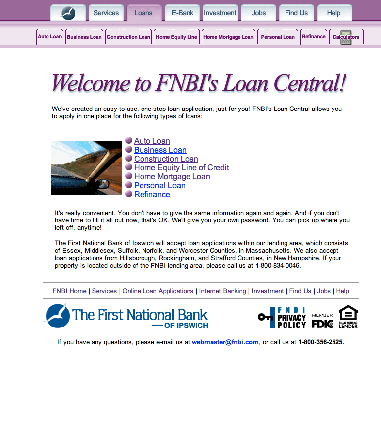 First National Bank of Ipswich