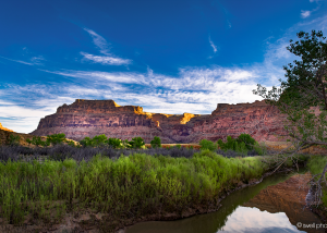 Sunrise, San Rafael Swell and the San Rafael River