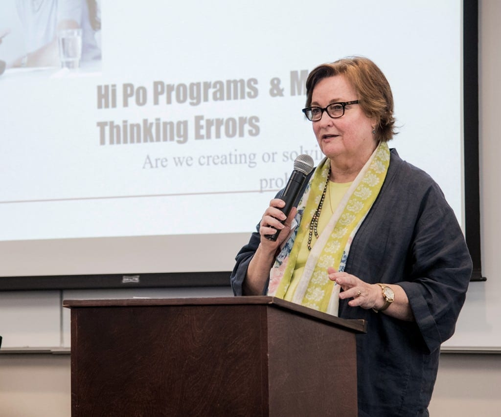 Miriam Lacey, Ph.D. Lecture